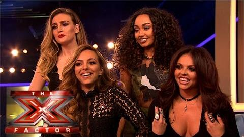 Little Mix give their advice to The Groups The Xtra Factor 2015