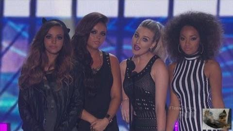 Little Mix at the 2013 Teen Choice Awards