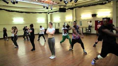 Salute Dance Rehearsal Part 1!