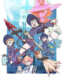 Little Witch Academia TV official poster