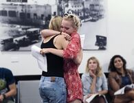 Dove Hugging Shelby
