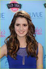 Laura at the Teen Choice Awards