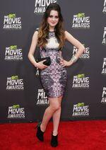 Laura at the MTV Move awards