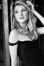 Emmy Buckner black & white