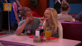Josh and Maddie in the Booth