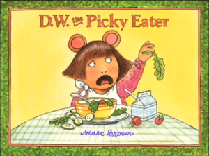 Living Books - Titles-D.W. the Picky Eater.