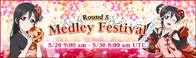 Medley Festival Round 5 EventBanner