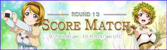 Score Match Round 13 EventBanner