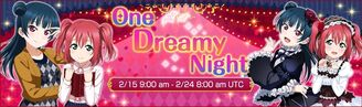 One Dreamy Night EventBanner