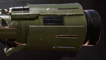 Heavy launcher barrel