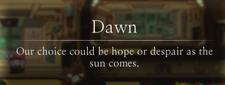 Dawn Message