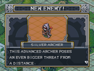 New enemy silver archer