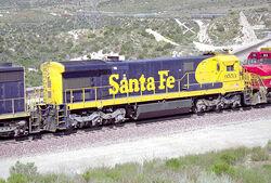ATSF SF30C rear
