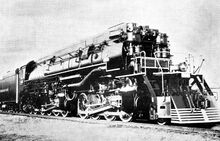 Southern Pacific AC-9 steam locomotive