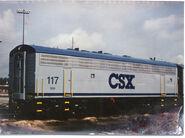 CSX F7B 117-s