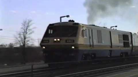 VIA Rail LRC Smoke Show!