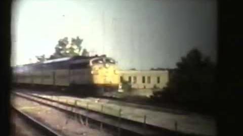 Chicago area EMD F7 E8 E9 and F40C units 1970's