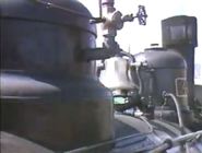 Locomotive's boiler