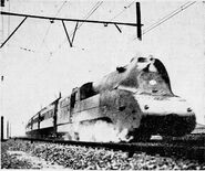 JNR C53 Express Streamlined