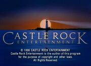 Castle Rock Entertainment Television 1996 bylineless
