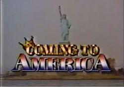 Coming to America TV Pilot 1989