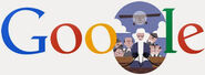 Google Gerard Oury's 95th Birthday (Version 2)