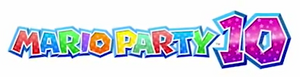 Mario Party 10 second logo