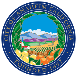 250px-Seal of Anaheim, California svg
