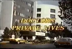 Doctors' Private Lives