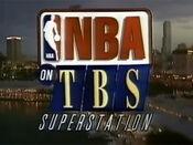 NBA on TBS Superstation logo