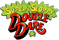 Super Sloppy Double Dare red logo