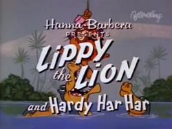 Lippy Lion Title Card