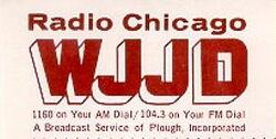 WJJD 1160 AM 104.3 FM