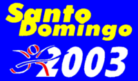 Santo Domingo 2003 logo