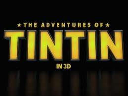 The adventures of tintin movie logo