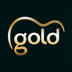 Gold Gold on Black