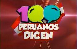 100 Peruanos Dicen