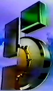 Logo Canal 5 1994