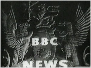 BBC-TV's BBC News Video Open From 1955