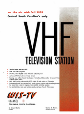 WIS-TV 1953 (pre sign-on)