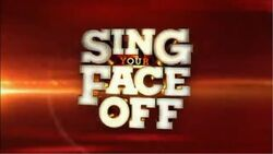 Sing Your Face Off Intertitle