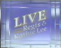 Live! with Regis & Kathie Lee 1987