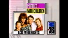 WATL FOX 36 promo for Married with Children 630pm Weeknights from 1992
