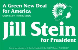 Jill Stein for President logo