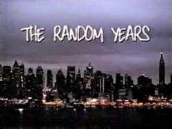 The random years