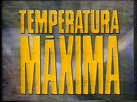 Temperatura Máxima promos 1989