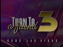 KVBC Channel 3 Las Vegas Bumper 1993
