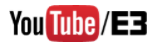 E3 YouTube logo