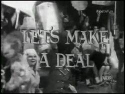 Let's Make a Deal B&W