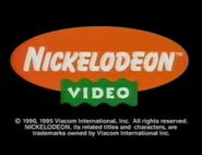 Nickelodeon Video 1995